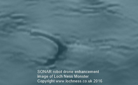 Subsea drone hunts for Nessie